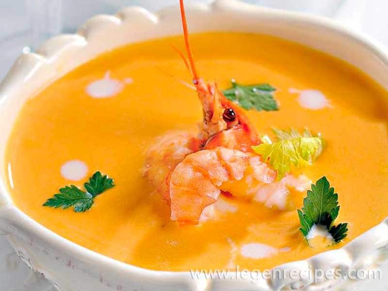 Bisque of crayfish