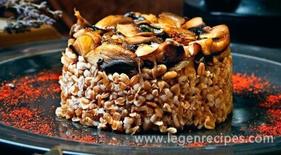 Acharya melting, spelled with mushrooms