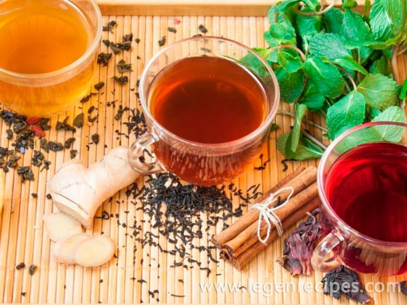 How to prepare tea from herbs collected in the summer
