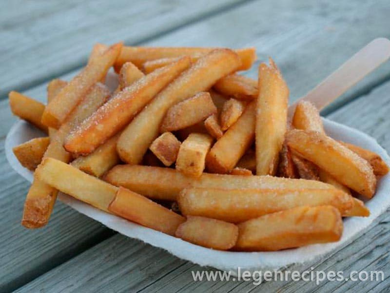 How to select and prepare fresh frozen french fries