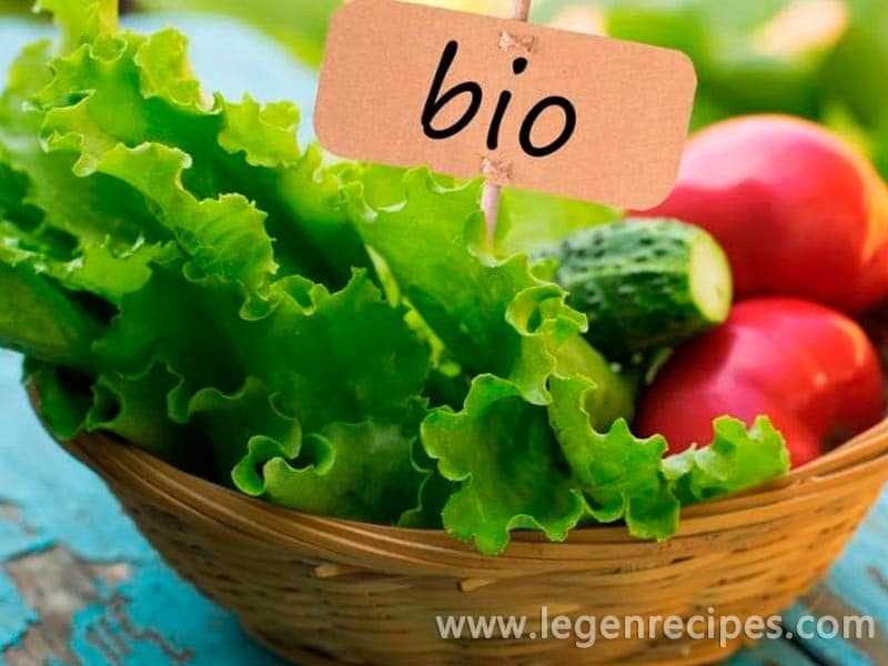 Organic food: good, especially the right to choose