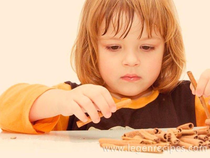 Spices in the children's diet