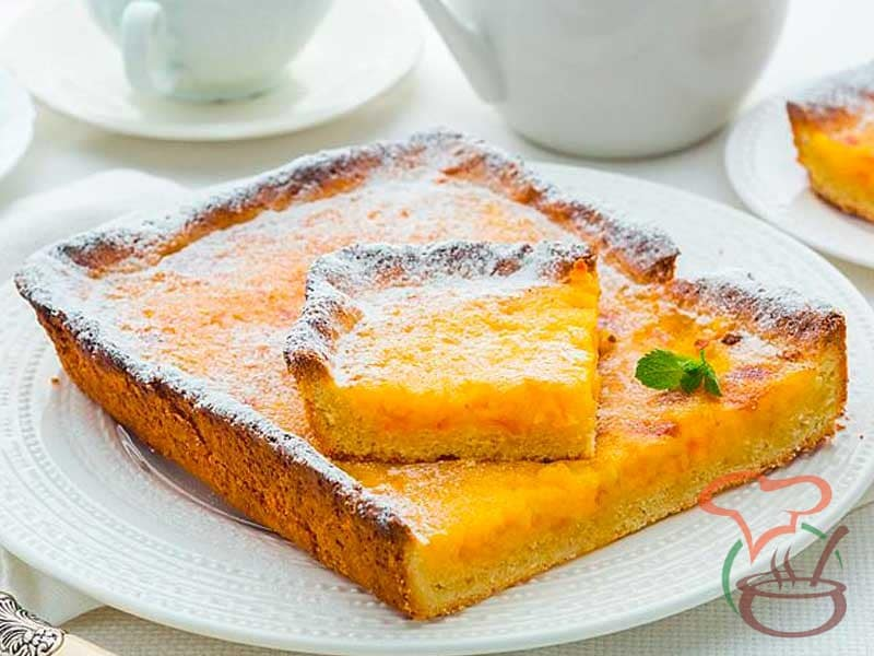 Tart with orange marmalade - Legendary Recipes