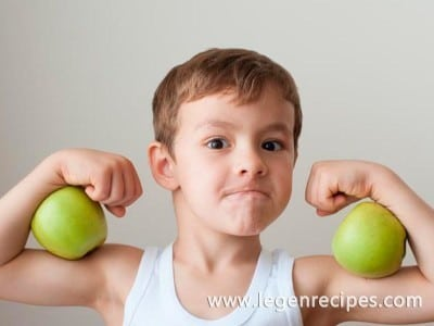 Tip of the day: for the development of intelligence accustom a child to physical activity