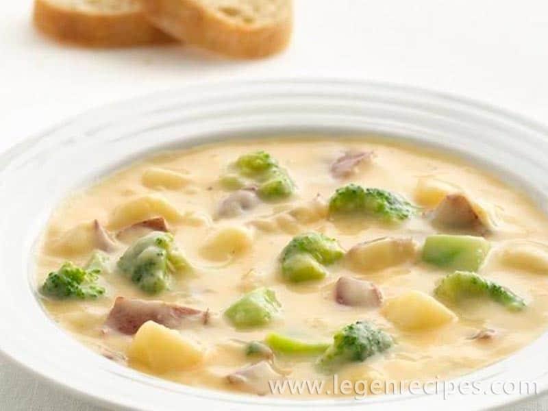 Cheesy Potato Chowder - Legendary Recipes