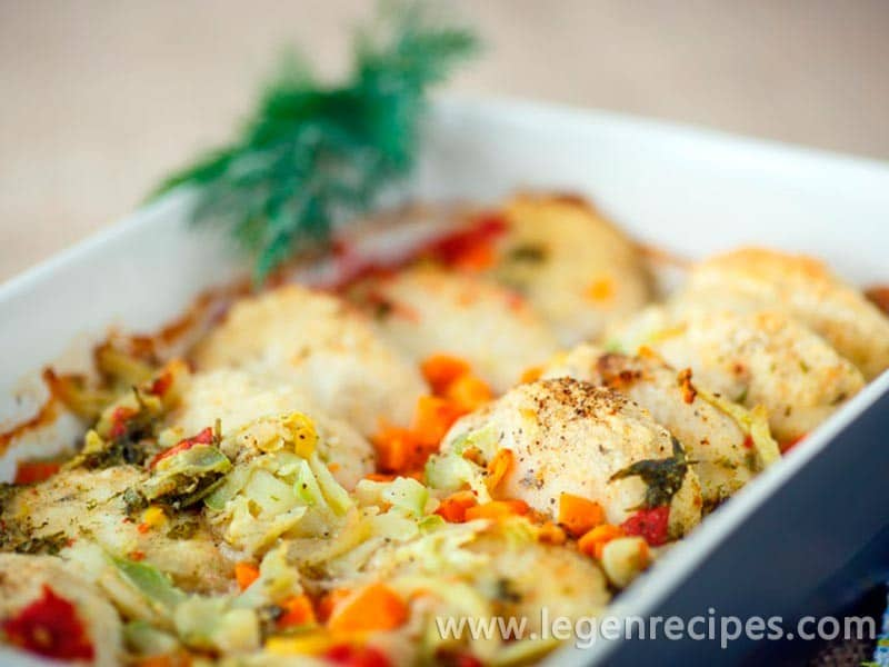 Cutlets in the oven: recipe diet a meat dish with vegetables
