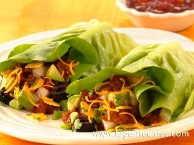 Inside-Out Taco Salad Wraps