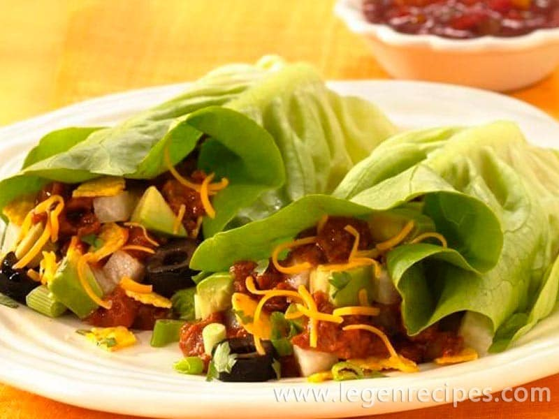 Inside-Out Taco Salad Wraps - Legendary Recipes