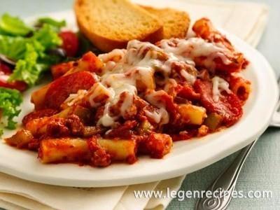 Meat-Lover's Pizza Casserole