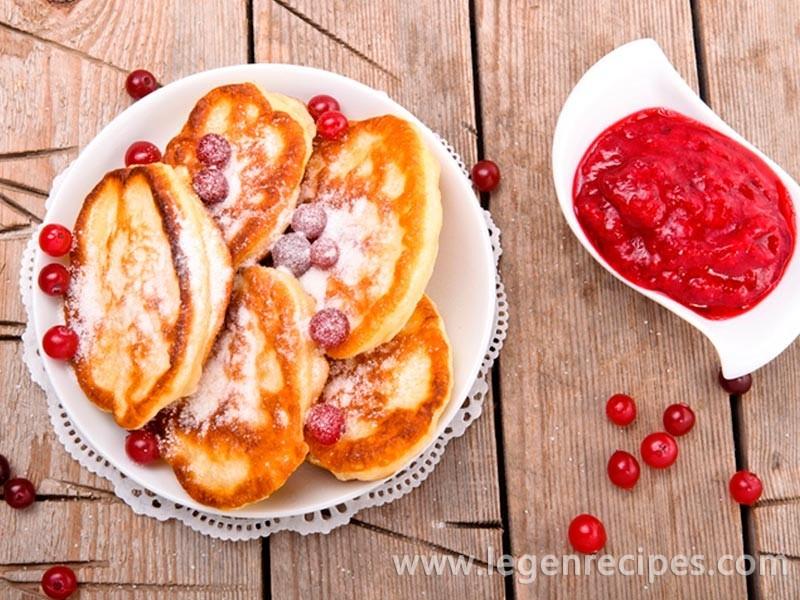 Pancakes on yeast