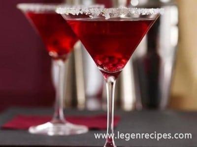 Pomegranate-Ginger Prosecco Cocktails