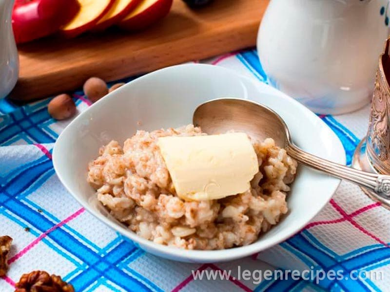Porridge. Legend, diet and taste