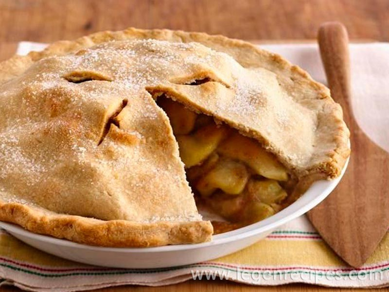 Scrumptious Apple Pie - Legendary Recipes