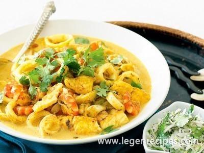 Seafood Malabar