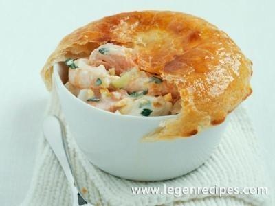 Seafood pies