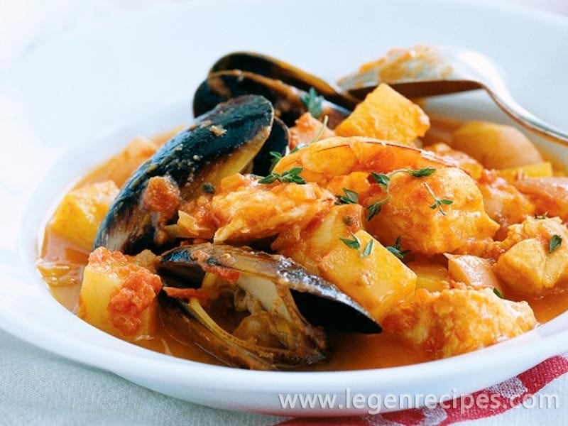 Seafood stew legendary recipes for Recipe for seafood stew