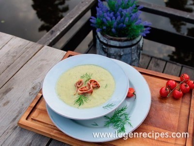Soup-puree zucchini