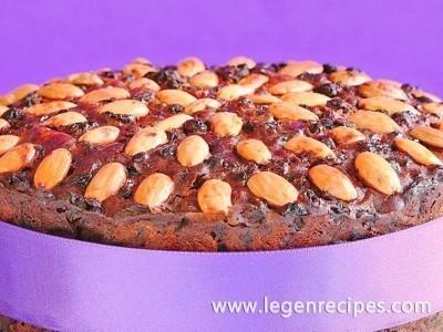 Super-healthy fruitcake