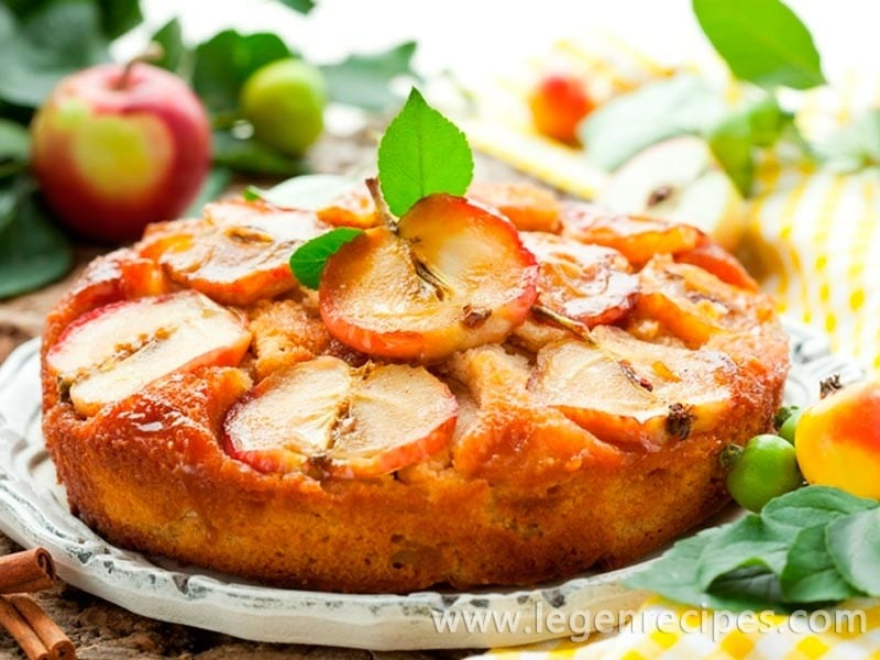 Apples pie: dietary recipe