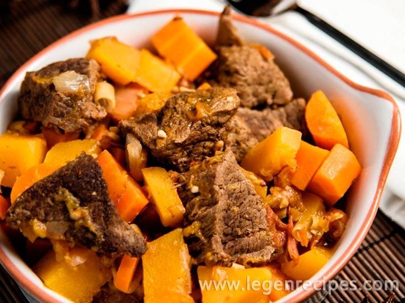 Asian-Style Lamb Stew Recipe