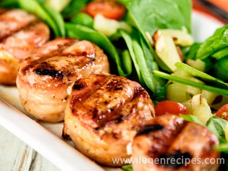 Bacon-Wrapped Pork Medallions Recipe