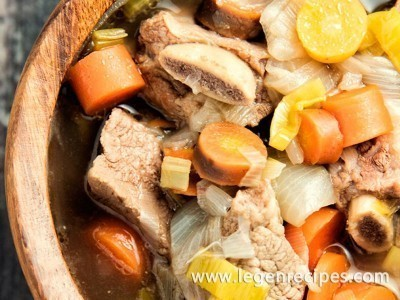Beef Short Rib Soup Recipe