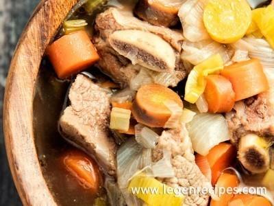 Beef Short Rib Soup Recipe