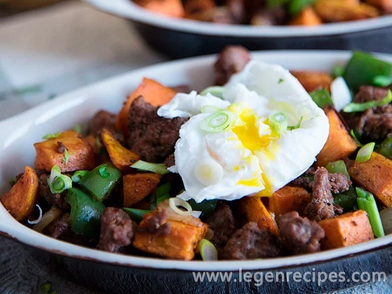 Breakfast Hash With Sausage And Eggs Recipe - Legendary Recipes