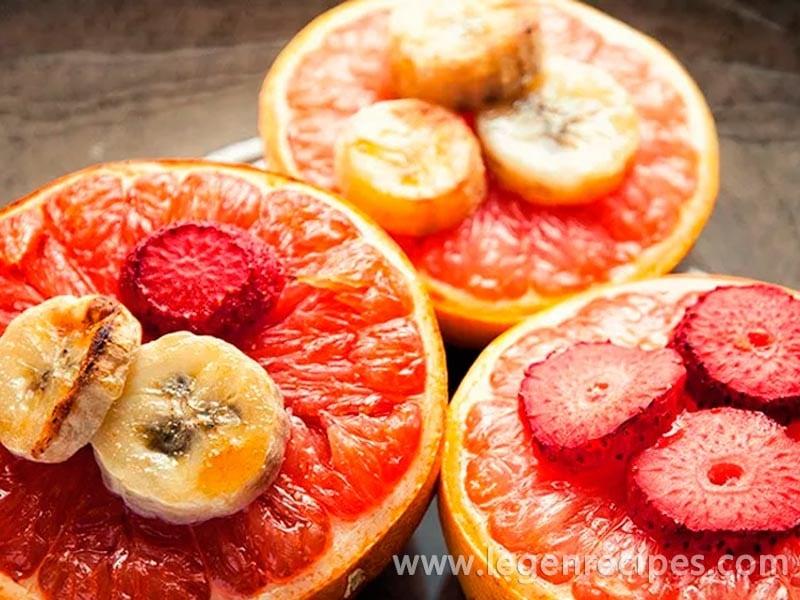Broiled Grapefruit Recipe