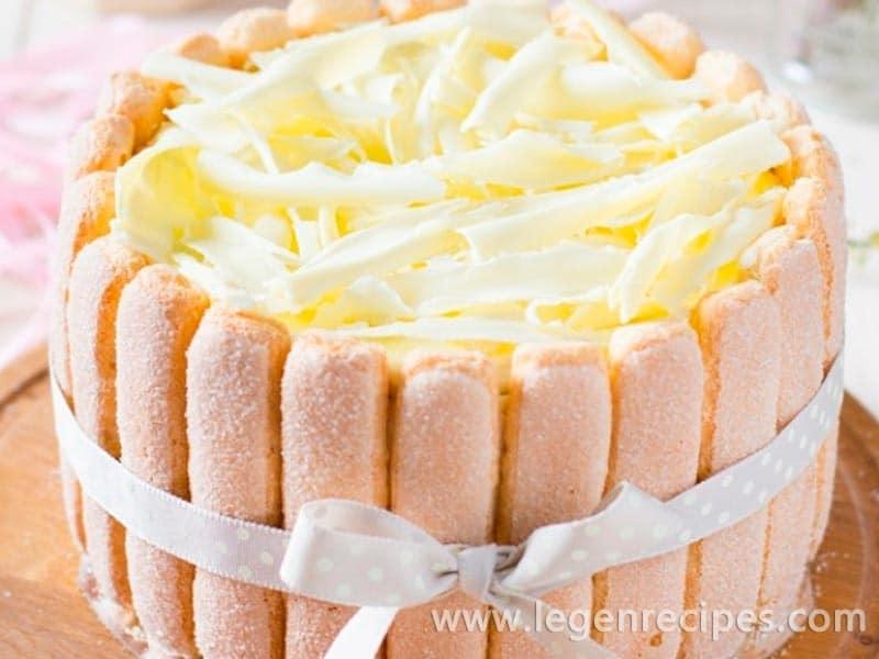 Cake mousse with Savoiardi