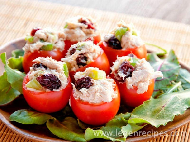 Chicken Cranberry Salad Recipe
