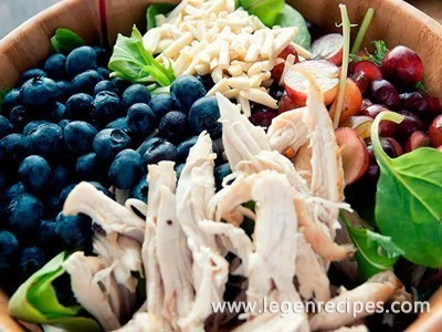 Chicken Salad With Almond Dressing Recipe
