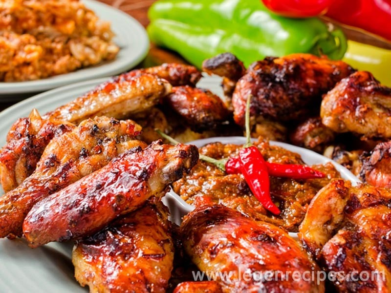 Chicken wings in the oven with honey-soy sauce - Legendary Recipes