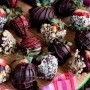 Chocolate-Covered Strawberries Dipped In Nuts Recipe