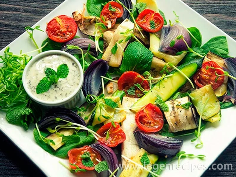 Cooked Vegetable Salad Recipe