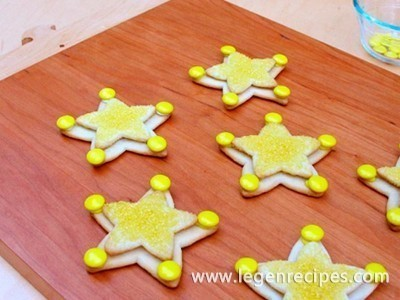 Cookies in the form of Sheriff woody