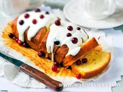 Cupcake on kefir