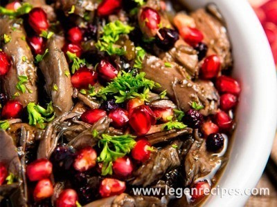 Duck And Blueberry Stew Recipe