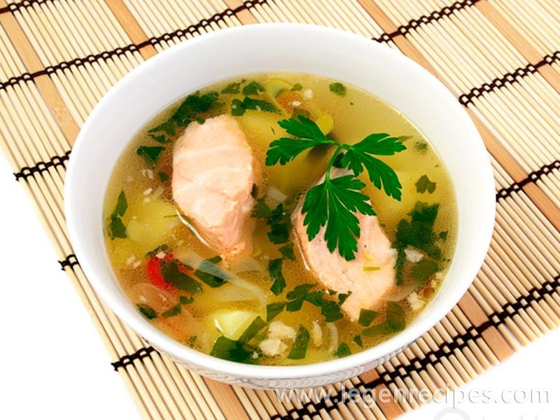 Fish Soup with Red Snapper and Vegetables