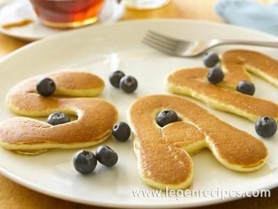 Easy Alphabet Pancakes