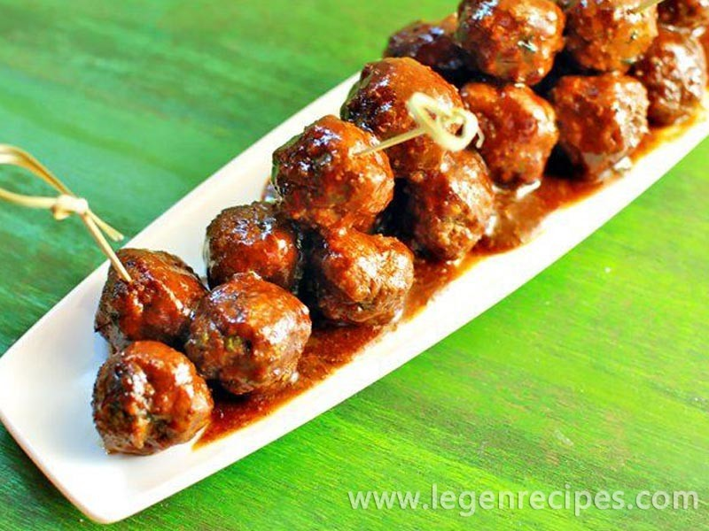 Easy Root Beer BBQ Meatballs