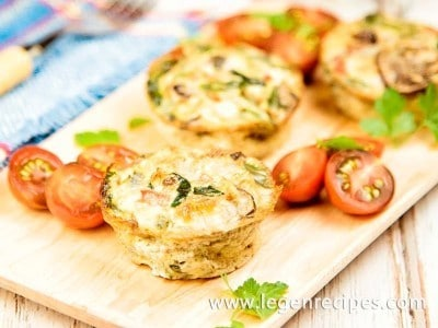 Egg And Vegetable Muffins Recipe