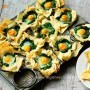 Eggs Florentine Tartlets recipe