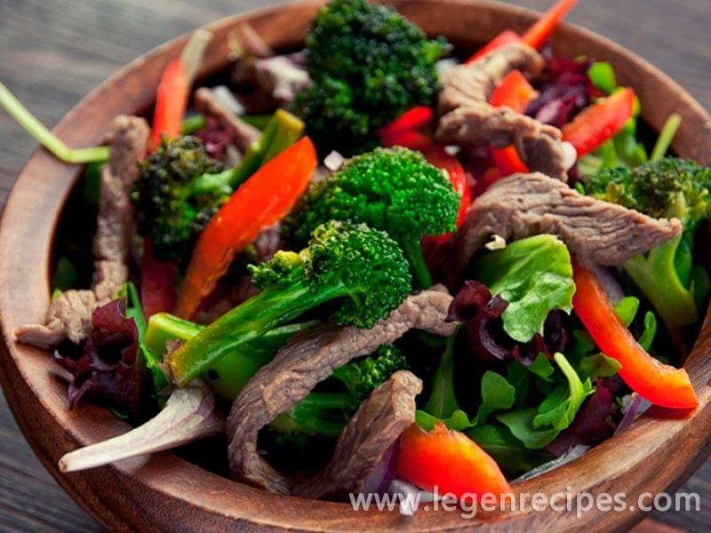Gingered Beef Salad Recipe