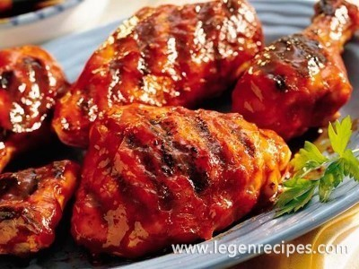 Grilled Best Barbecued Chicken