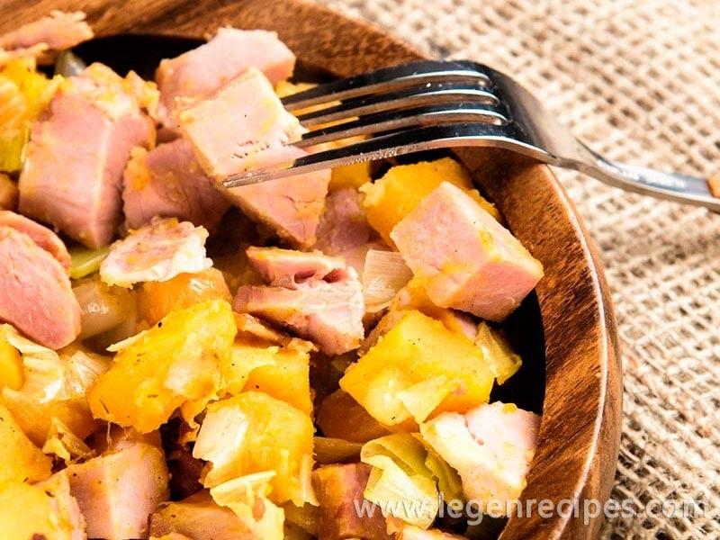 Ham And Butternut Squash Hash Recipe