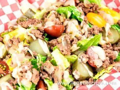 Hamburger Salad Recipe