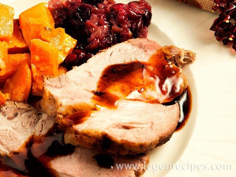 Holiday Spiced Pork Roast Recipe