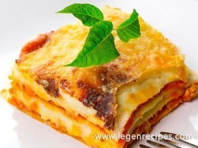 How to make lasagna step – by-step recipe