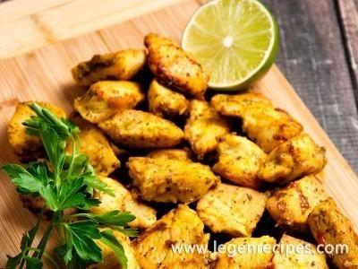 Indian Style Chicken Bites Recipe